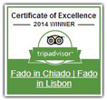 Certifiacte of Excellence Trip Advisor
